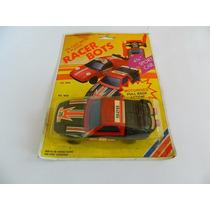 Transformes Carro Vira Robô Racer Bots Anos 80/90 1/43