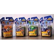 Super Wings Discovery Kids Kit Com 4 Aviões + Frete Grátis
