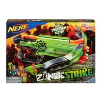 Lançador De Dardos Nerf Zombie Strike Crossfire Bow Hasbro