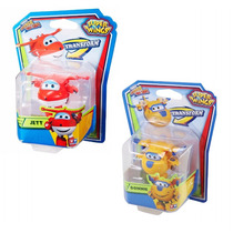 Super Wings Jeff E Donnie Mini Change Em Up! Discovery Kids