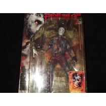 Jason In Hell - Boneco 18cm Não Chucky Hellraiser Myers Raro