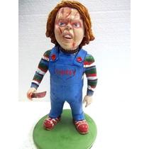 Chucky Brinquedo Assassino Lindo Boneco Artesanal