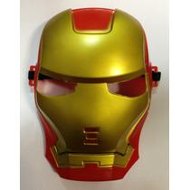 Máscara Homem De Ferro - Vingador Fantasia Cosplay Halloween