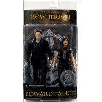 Saga Crepúsculo New Moon: Edward E Alice - Neca Toys