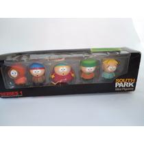 Kit Completo South Park Original Kid Robot Com 5 Bonecos