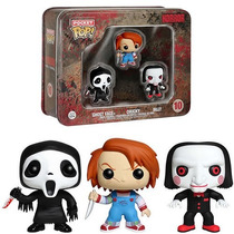 Ghost Face - Chucky - Billy Puppet - Horror Pocket Pop Funko