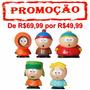5 Bonecos South Park Stan Eric Kyle Kenny Butters 6cm Pvc