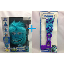 Kit Máscara + Mão Sullivan Monstros S.a Disney Pixar Azul