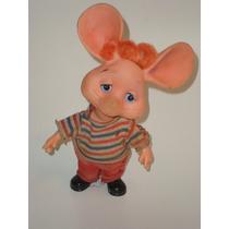 Antigo Boneco Topo Gigio Da Estrela - Anos 60