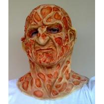 Mascara Freddy Krueger - Latex Super Luxo E Fantasia Adulto