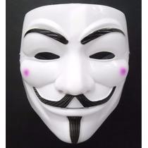 Máscara V De Vingança - Anonymous Vendetta Guy Fawkes