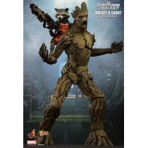 Rocket & Groot - Guardians Of The Galaxy - Hot Toys - Brasil