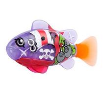 Robô Fish Peixe Pirata Brinquedo Dtc 2957 Roxo