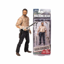 Boneco Rick Grimes Series 6 The Walking Dead Mcfarlane Toys