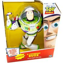 Boneco Toy Story Buzz Lightyear Power Up Falante - Toyn