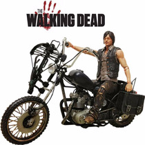 Mcfarlane The Walking Dead Daryl Dixon + Chopper (moto)