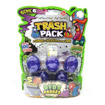 Trash Pack Ovos Podres Série 6 Coleção Brinquedo Dtc 3004