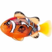 2 X Robô Fish Peixe Pirata Laranja E Shark Vermelho Dtc 2957
