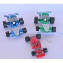#176# 3 Carrinhos De Corrida Da Formula 1