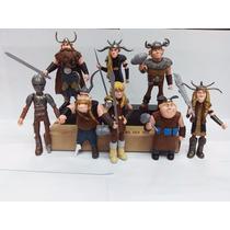 Bonecos Como Treinar Seu Dragão 8 Vikings - Envio Imediato