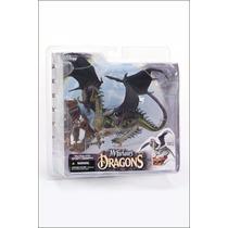 Eternal Dragon Clan 4, Mcfarlane Toys Dragão Novo Muito Raro