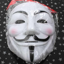 Máscara V De Vingança Guy Fawkes Anonymous Vendetta