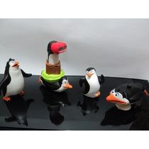 Coleção Mc Donalds - Os Pinguins De Madagascar - 4 Peças!!!