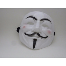 Máscara V De Vingança - Guy Fawkes - Anonymous Vendetta