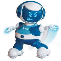 Disco Robô Azul Estrela