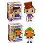 Pop Willy Wonka + Oompa Loompa Fábrica De Chocolate - Funko
