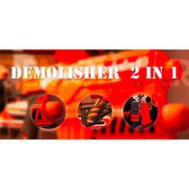 Lançador Nerf N-strike Demolisher 2 Em 1 - Hasbro Frete Grat