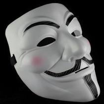 3 Máscara V De Vingança Anonymous Vendetta Guy Fawkes