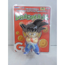 Boneco Son Goku Pequeno Banpresto Vol 1 Vinyl Dragon Ball.