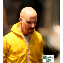 Mezco Breaking Bad Walter White In Yellow Hazmat Suit Ex
