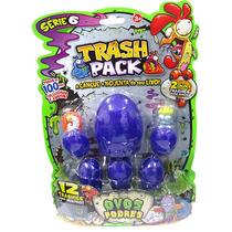 Trash Pack Ovos Podres Série 6 Coleção Brinquedo Dtc 2880