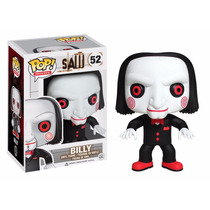Boneco Funko Pop - Saw - Jogos Mortais - Billy # 52