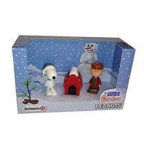 Peanuts Schleich Snoopy 2 Pack Natal Charlie Brown E Snoopy