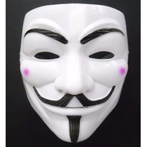 Máscara V De Vingança - Anonymous Vendetta Gvoouy Fawkes