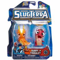 Slugterraneo Basic Figure 2 Pack - Burpy E Thugglet