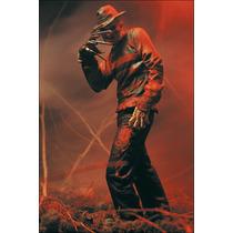 Freddy Krueger Movie Maniacs 4, Mcfarlane Toys, Terror, Novo