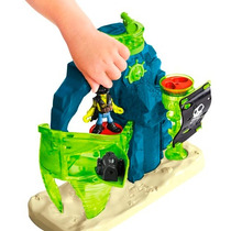 Imaginext Ilha Pirata Fantasma Fisher-price - Mattel