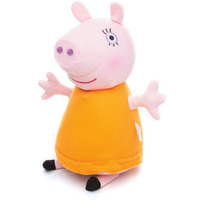 Novo Boneco Pelúcia Da Estrela Peppa Pig Mamãe Pig 35 Cm
