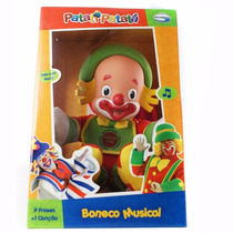 Boneco Patata Baby Musical Multibrink Novidade