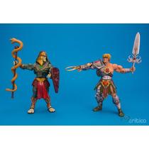 Motuc - Snake Armor He-man - Batle Armor King Hisss Na Parda