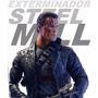Exterminador Do Futuro Mod. Steel Mill 18cm Neca Envio Já!!!