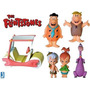 The Flintstones - Hanna-barbera - Set C/ 6 Bonecos Jazwares