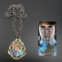 Colar Harry Potter Modelo 5 Ad Hogwarts Grifinoria Sonserina