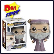 Funko Pop! Harry Potter - Dumbledore Com Varinha Em Estoque