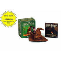 Chapeu Seletor Harry Potter Sorting Hat + Livro De Adesivos