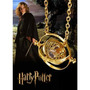 Colar Harry Potter Hermione Vira Tempo Banhado A Ouro 18k